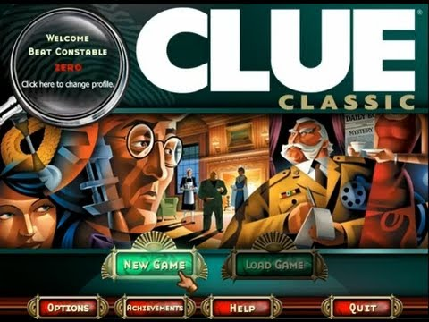 Clue Classic. Play as Miss Scarlet