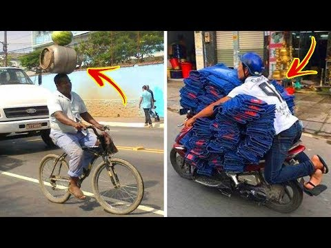 Crazy Transportation Methods From Around The Globe ★ Funny Pictures ★