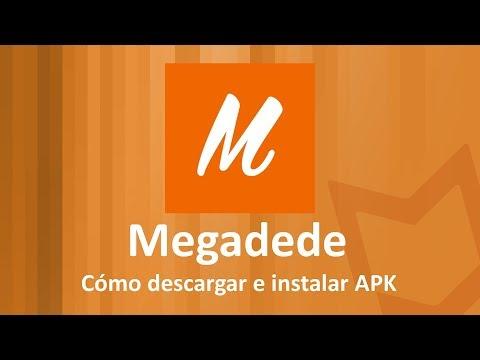 Cómo Descargar MEGADEDE (e Instalar) En Android GRATIS (APK)