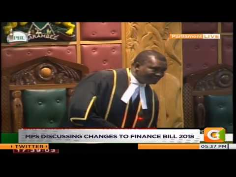 Muturi at pains in parliament as MPs take vote on Uhurus tax memo