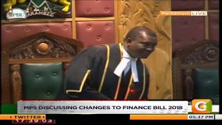 Muturi at pains in parliament as MPs take vote on Uhuru's tax memo