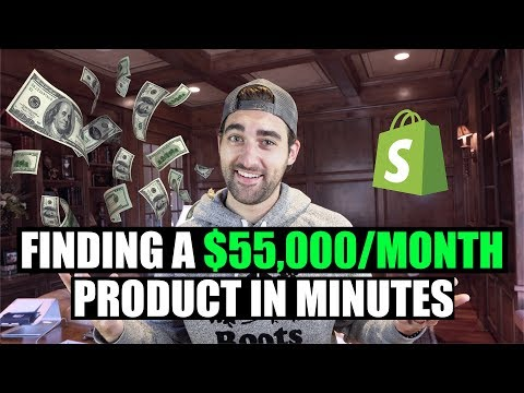 SECRET Shopify Dropshipping Product Research Technique To Find WINNING Products FAST