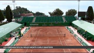 Quid des préparatifs pour les rolex monte-carlo masters ?, c'est dans un contexte sanitaire exceptionnel, jamais connu en 114 ans de compétition, que l'incontournable tournoi tennis monégasque ...