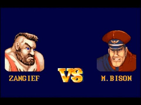 street fighter ii snes zangief vs m bison hardest setting best ending youtube. Black Bedroom Furniture Sets. Home Design Ideas