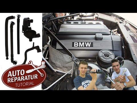 Kurbelgehäuseentlüftung wechseln - KGE BMW M52 M54 | Auto Tutorial