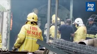 Incendie: un boiler room de l'usine St-Malo part en fumée