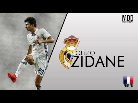 Enzo Zidane | Real Madrid | Goals, Skills, Assists | 2016/17 - HD