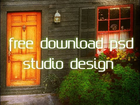 Free Download PSD Studio Background Design Photoshop Templates