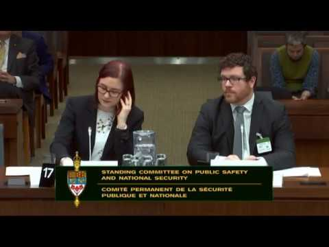 ICLMG & OpenMedia testify on Bill C-59, the National Securit