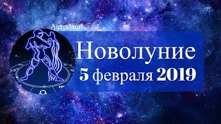 НОВОЛУНИЕ реформаторов 5 февраля 2019 в ВОДОЛЕЕ Астролог Olga