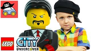 🚓  LEGO City Undercover Прохождение #12 БАНДА Лего Сити Игра ГТА Канал Жестянка