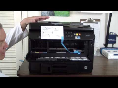Epson WorkForce Pro WF-4630 Unboxing & Setup