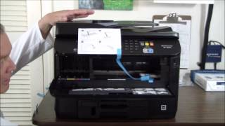 Epson WorkForce Pro WF-4630 Unboxing & Setup
