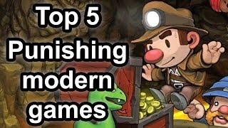 Top 5 - Punishing modern games