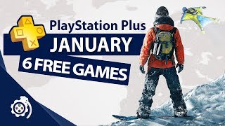 Playstation Plus (ps ) January 2019