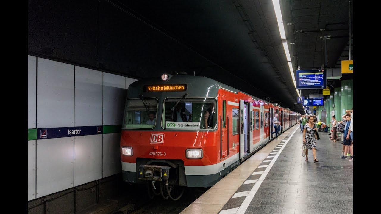 S Bahn München Et420 Auf Ganzer Linie S2