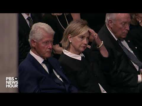 WATCH: Henry Kissinger speaks at memorial service for John McCain at National Cathedral