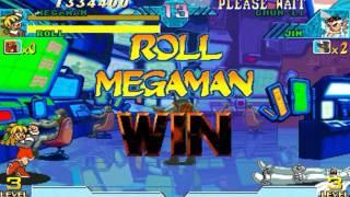 Marvel vs Capcom: Clash of Super Heroes (Arcade) - Mega Man/Roll Longplay