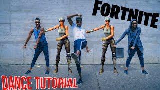 dances FORTNITE 😈 step by step