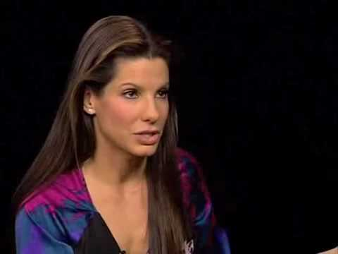 Sandra Bullock interview - Charlie Rose show - 10 February 2010 - Part 2