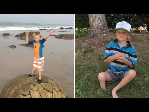Thumbnail: 4-Year-Old Boy Has Prosthetic Leg Stolen While Going To Beach For First Time