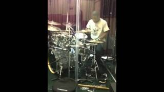 You are God Alone-William McDowell(Drum Cover) by Ian Asibey