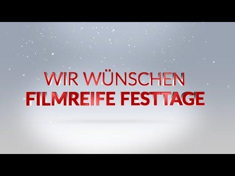 Wir wünsche filmreife Festtage