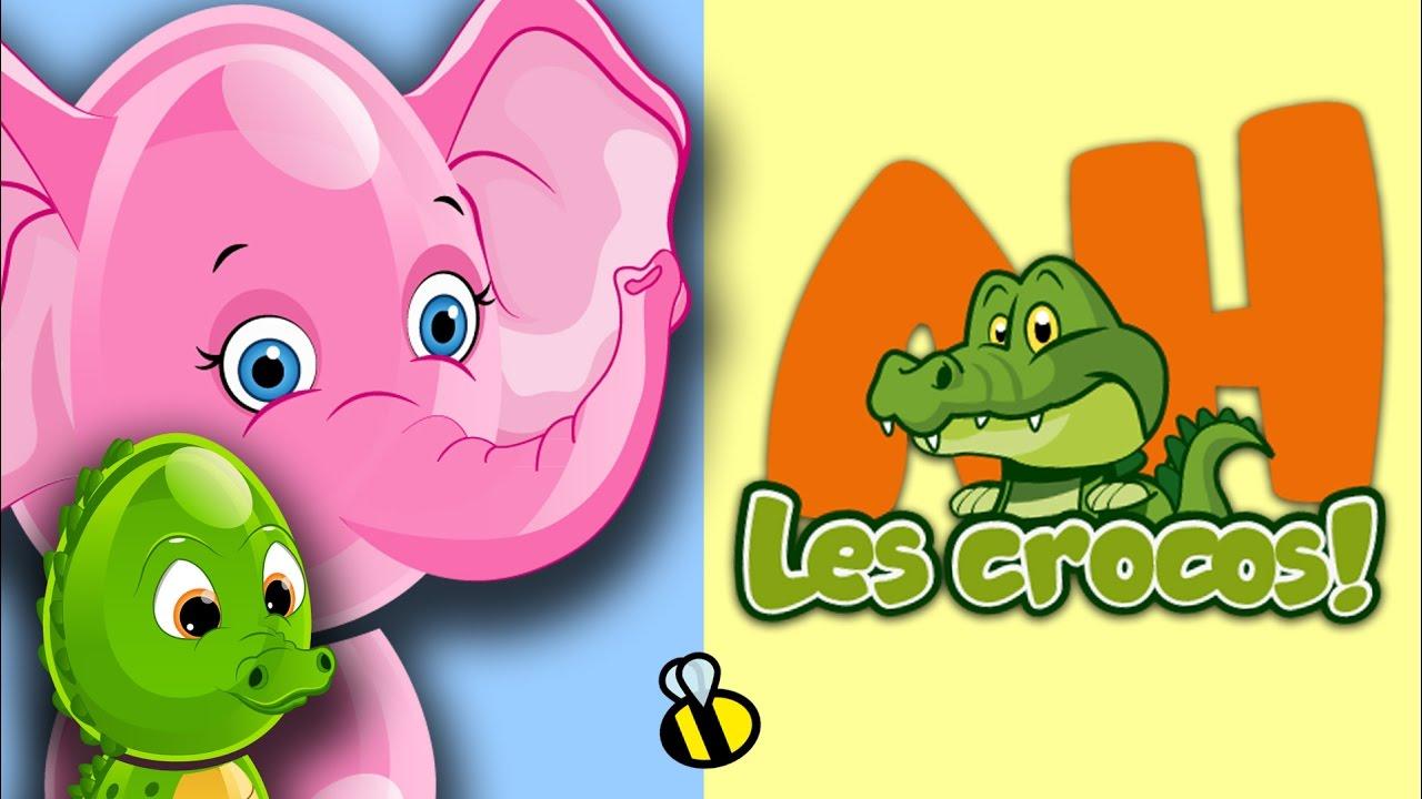 Ah Les Crocodiles Comptine Crocodile Youtube