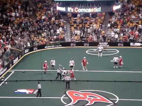 boston blazers lacrosse fight