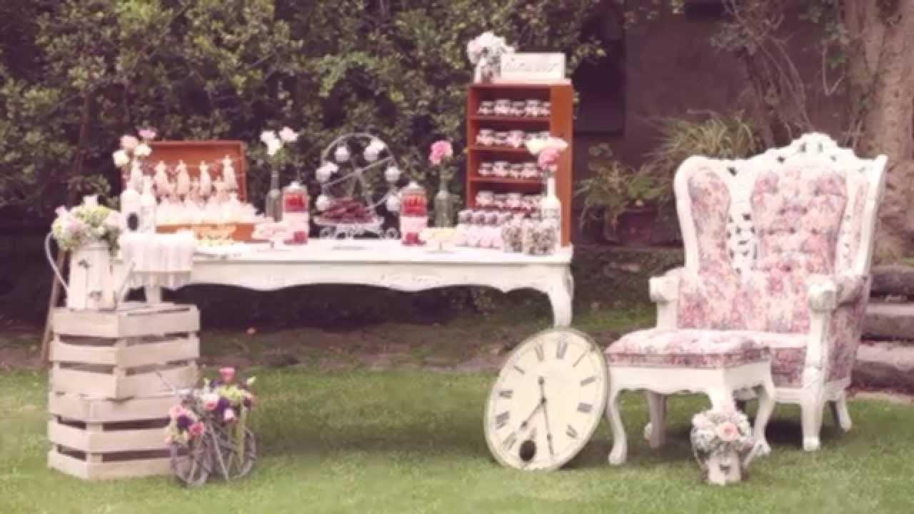 Mesa de dulces para tu evento youtube for Mesa de dulces para 15