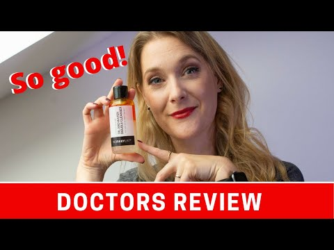 The Inkey List Oil and Water Double Cleanser - It is LOVE   Doctor Anne