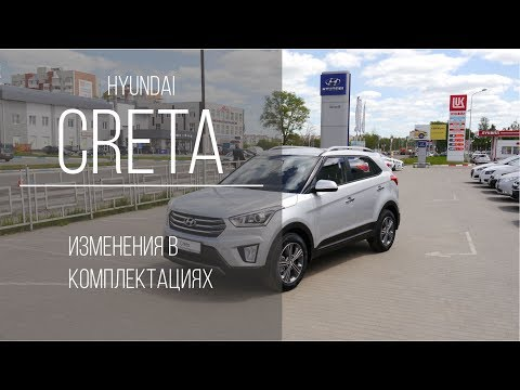 Hyundai Creta изменения в комплектациях