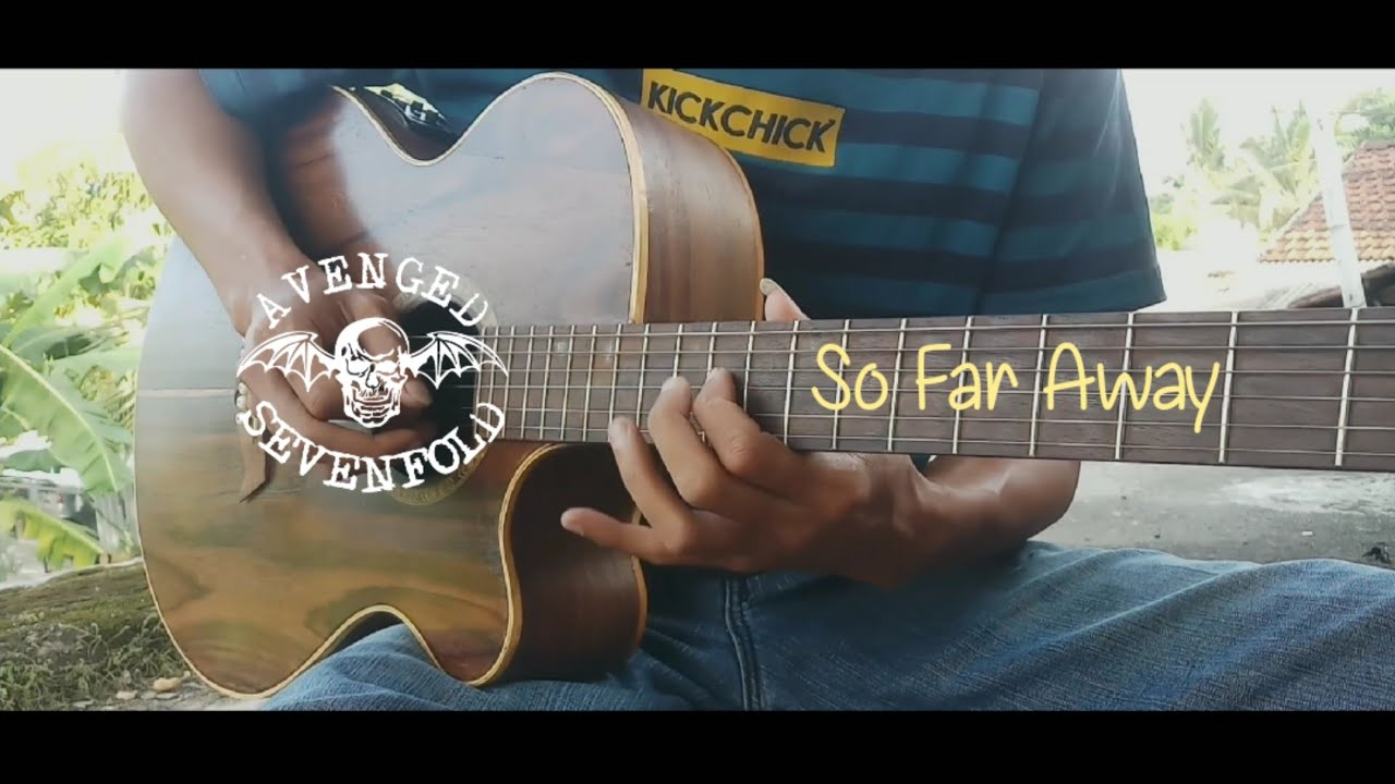 Avenged Sevenfold - So Far Away - Acoustic Solo Guitar | Outro