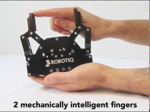 Flexible Robot Gripper: Main Features of a Flexible Electric Robot Gripper - Robotiq