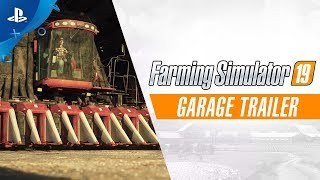Farming Simulator 19 - Garage Trailer | PS4