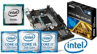 MSI Budget মাদারবোর্ড H110M PRO-VD PLUS FOR 6TH & 7TH Gen intel Processor   Unboxing + overview