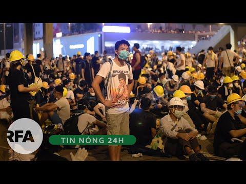 Thời sự 24H   Hong Kong: dân tiếp tục dự định biểu tình, chính quyền tạm hoãn thảo luận dự luật