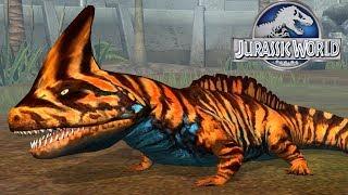 TIẾN HÓA LEGEND HỆ NƯỚC CẤP 40 MẠNH CỠ NÀO??? | Jurassic World Khủng Long Game Android, Ios