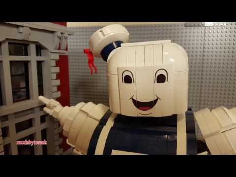 LEGO Stay Puft Marshmallow Man Speed Build