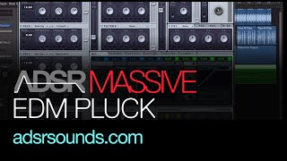 NI Massive tutorial - Unique EDM Pluck