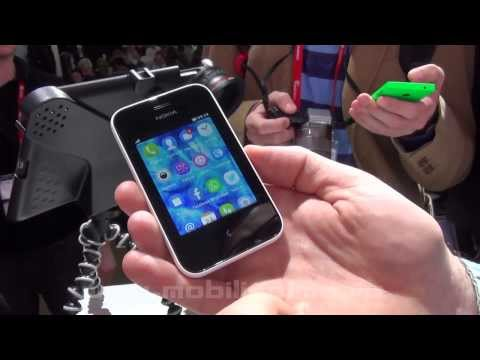 Nokia Asha 230 Hands-On Video Preview MWC 2014 - Mobilissimo.ro