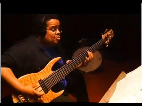 Anthony Jackson bass 1990 (clip 3)