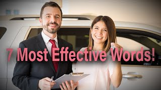 The 7 Most Effective Words to Closing a Car Deal - DLA Centers