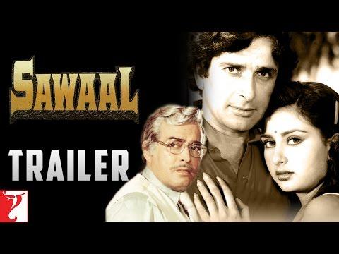 Sawaal   Official Trailer   Shashi Kapoor   Poonam Dhillon