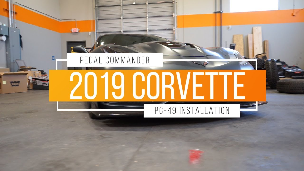 Pedal Commander Throttle Response Controller PC49 Bluetooth for Chevrolet Corvette 2014 and newer Fits All Trim Levels; Stingray, Z51, Grand Sport, Z06, ZR1