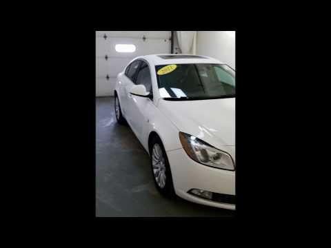 2011 Buick Regal Turbo Russelsheim at Don Johnson Motors in Rice Lake, WI (R17625A)