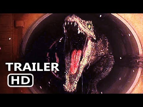 Download Youtube: JURASSIC WORLD 2 Final Trailer TEASE (2018) Chris Pratt, Fallen Kingdom Action Movie HD