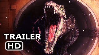 connectYoutube - JURASSIC WORLD 2 Final Trailer TEASE (2018) Chris Pratt, Fallen Kingdom Action Movie HD