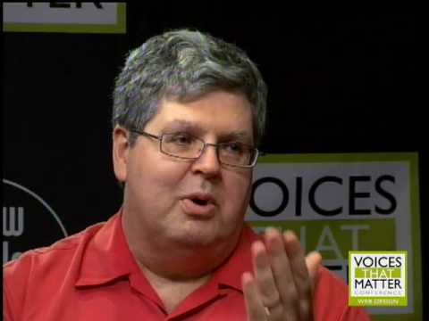 Christopher Schmitt, Steve Krug, Jeremy Keith and Nancy Ruenzel at Voices That Matter