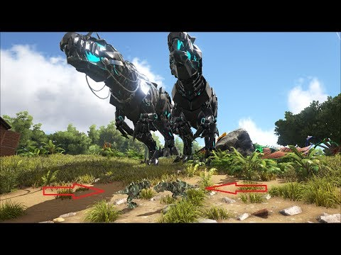 ARK SURVIVAL EVOLVED:  Baby Tek Giganotosaurus